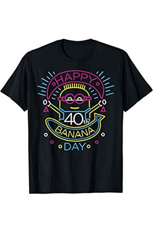 Minions Minions Happy 40th Banana Day T-Shirt