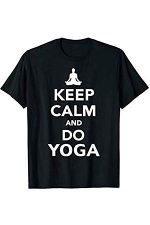 Yoga Geschenke Keep calm Yoga T-Shirt