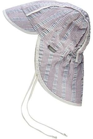 Sterntaler Schirmmütze für Jungen mit Nackenschutz und Bindebändern, Alter: 12-18 Monate, Größe: 49
