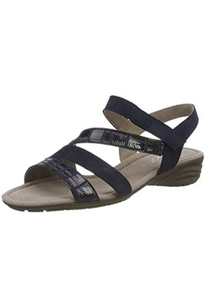 Gabor Shoes Damen Casual Riemchensandalen, (Bluette 36)