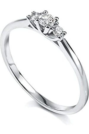 TOUS Damen Ring, Weißgold 750/1000, Diamant, 50 (15.9)