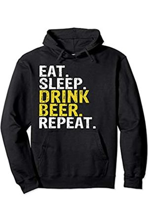 Eat Sleep Drink Beer Repeat Tee Co. Eat Sleep Drink Beer Repeat Gift Pullover Hoodie