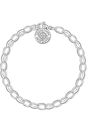 Thomas Sabo Damen-Armband Charm Club 925 Sterling Diamant DCX0001-725-14