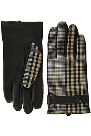 Scotch&Soda Herren Classic wool-panelled leather gloves Handschuhe