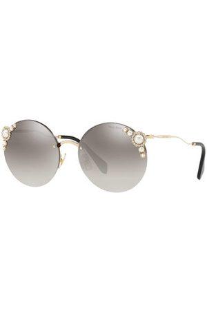 Miu Miu Sonnenbrille Mu 52ts gold