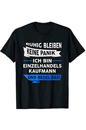 Kaufmann Einzelhandel Job Witz Motiv Herren Einzelhandelskaufmann Beruf Verkäufer Geschenk Spruch T-Shirt