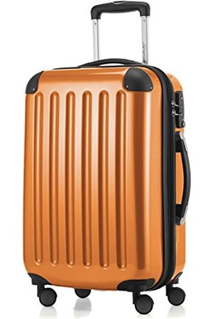 Hauptstadtkoffer Alex - 4 Doppel-Rollen Handgepäck Hartschalen-Koffer Trolley Rollkoffer Reisekoffer, TSA, 55 cm