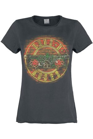 Guns N´Roses Damen T-Shirts, Polos & Longsleeves - Amplified Collection - Neon Sign T-Shirt charcoal
