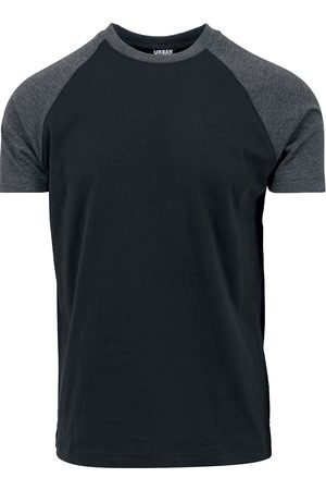 Urban classics Herren T-Shirts - Raglan Contrast Tee T-Shirt /charcoal
