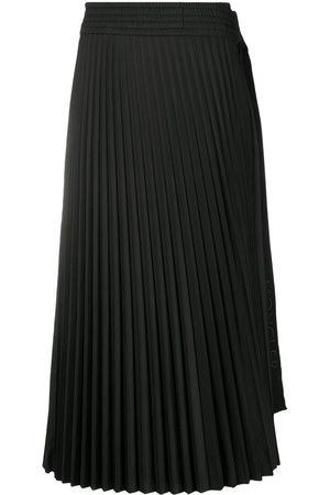 Moncler Damen Faltenröcke - Rock mit Schleifenverschluss