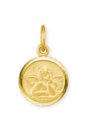 Amor Halsketten - Anhänger Schutzengel, 585er Gelbgold, , onesize