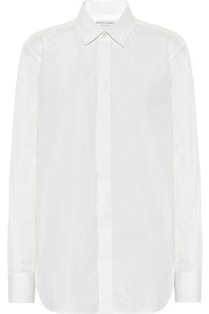 Bottega Veneta Hemd aus Baumwollpopeline