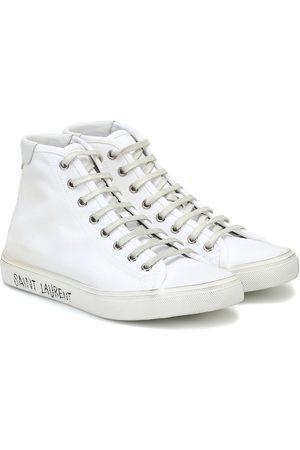 Saint Laurent High-Top-Sneakers Malibu aus Canvas