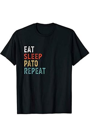 Funny Eat Sleep Pato Repeat Gifts Eat Sleep Pato Repeat Funny Pato Player Gift Idea Vintage T-Shirt