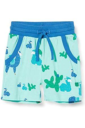 Green Cotton Baby-Jungen Lama Shorts
