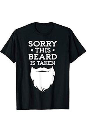 Happy Shirt Company Bart ist besetzt Beard is taken T-Shirt