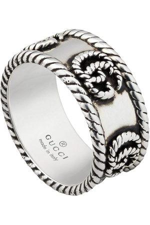 Gucci Texturierter Ring mit GG
