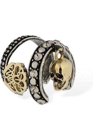 Alexander McQueen Skull & Seal Mono Ear Cuff