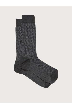 Salvatore Ferragamo Herren Krawatten - Herren Medium Gancini sock