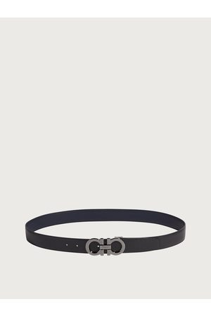 Salvatore Ferragamo Herren Gürtel - Herren Reversible and adjustable Gancini belt