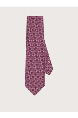 Salvatore Ferragamo Herren Krawatte mit Gancini-Print