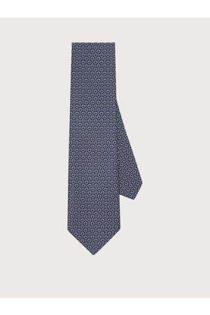 Salvatore Ferragamo Herren Krawatten - Herren Krawatte mit Gancini-Print