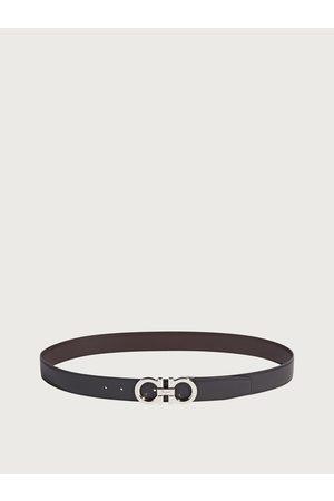 Salvatore Ferragamo Herren Reversible and adjustable Gancini belt