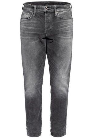 G-Star Herren Straight - Jeans 3301 Straight Tapered Fit grau