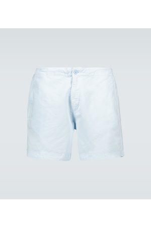 Orlebar Brown Shorts - Shorts Bulldog mit Leinenanteil