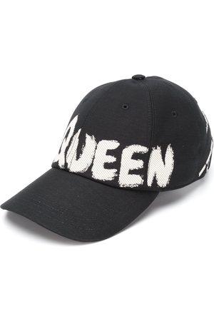 Alexander McQueen Herren Hüte - Baseballkappe mit Logo-Print