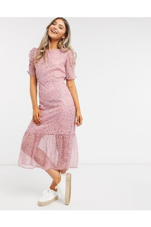 New Look – Kleid mit Ditsy-Muster