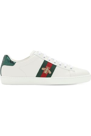 "Gucci Ledersneakers Mit Bienenstickerei ""new Ace"""