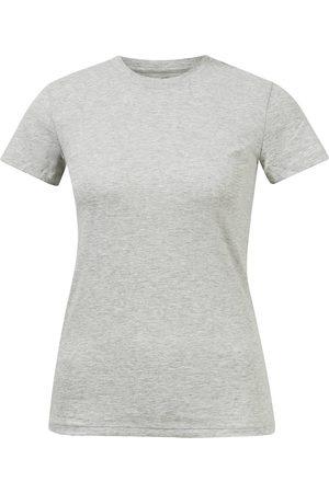 Vince Damen Poloshirts - Baumwoll T-Shirt mit Rundhalsausschnitt