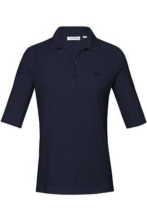 Lacoste Damen Longsleeves - PoloShirt langem 1/2-Arm