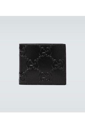 Gucci Faltbares Portemonnaie aus Leder