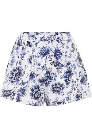 ALEXANDRA MIRO Exklusiv bei Mytheresa – Bedruckte Shorts aus Baumwolle