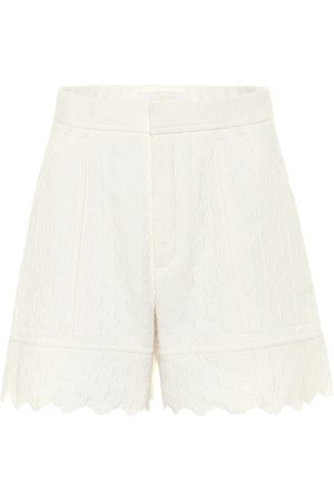 Chloé Shorts aus Baumwoll-Jacquard