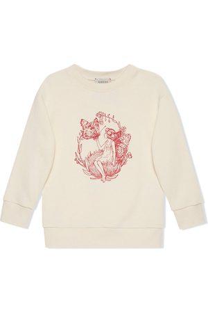 Gucci Sweatshirt mit Fredrick-Warne-Print