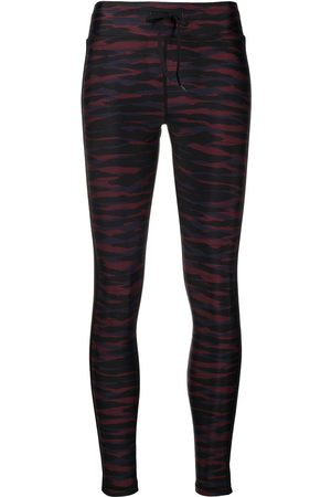 The Upside Anima' Yoga-Leggings mit Camouflage-Print