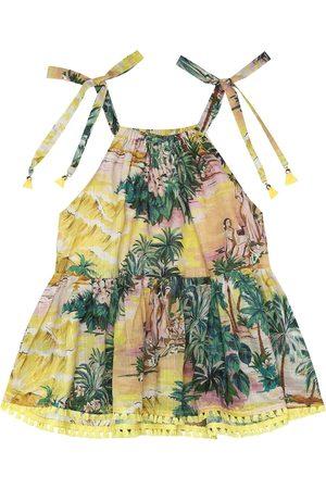 ZIMMERMANN Kleid Juliette aus Baumwolle