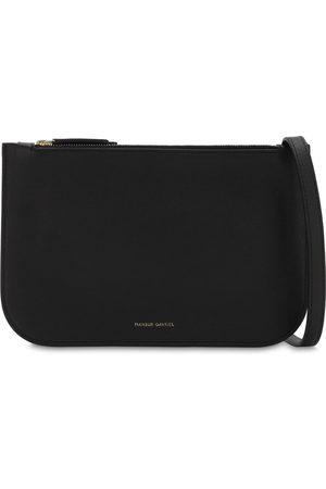 Mansur Gavriel Double Crossbody Leather Bag