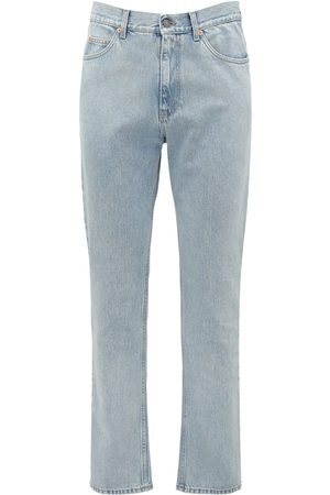 Gucci 20cm Jeans Aus Baumwolldenim Mit Logodetail