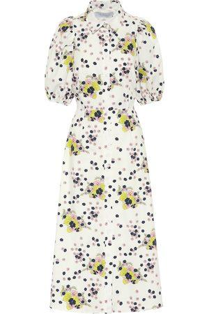 Les Rêveries Exklusiv bei Mytheresa – Hemdblusenkleid aus Baumwoll-Popeline