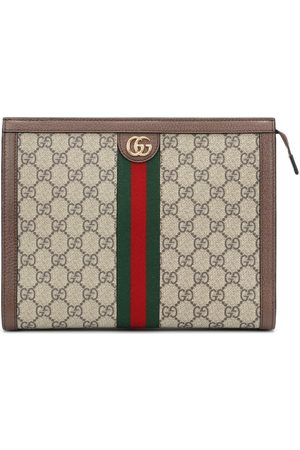 Gucci Clutch Ophidia GG Medium aus Canvas