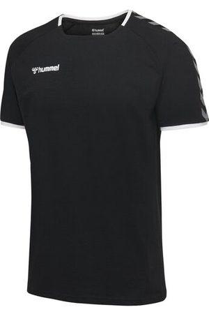 Hummel Trainings-T-Shirt, BLACK/WHITE, 116