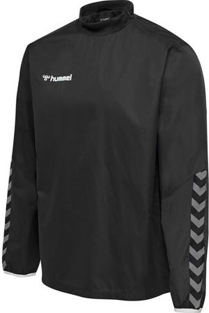 Hummel Windbreaker mit Kragen, BLACK/WHITE, 116