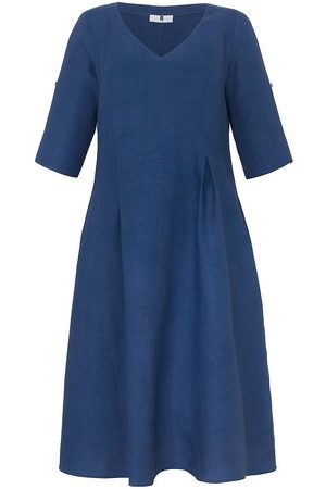 Anna Aura Kleid 3/4-Arm aus 100% Leinen