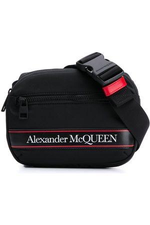 Alexander McQueen Gürteltasche mit Logo-Streifen