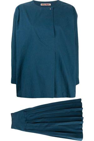 Issey Miyake 1970s blouse and skirt set