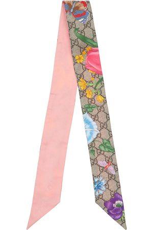 Gucci Seidenschal Mit Floradruck